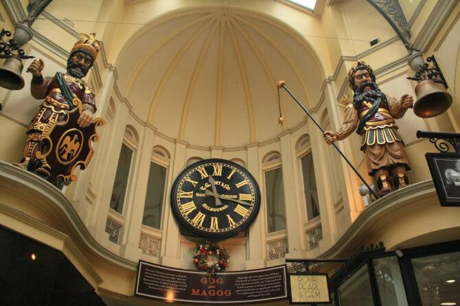 Top 20 things to do in Melbourne: Gaunt's Clock