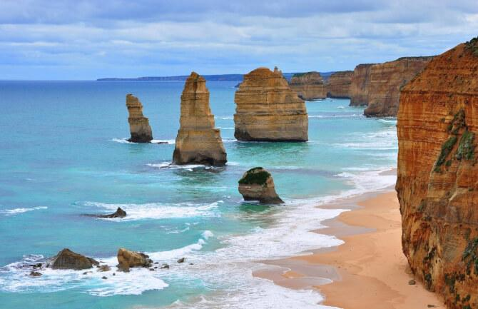 Top 20 things to do in Melbourne: Rock formations at the Port Campbell National Park
