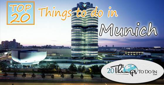 Top 20 things to do in Munich