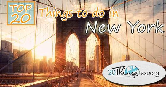 Top 20 things to do in New York