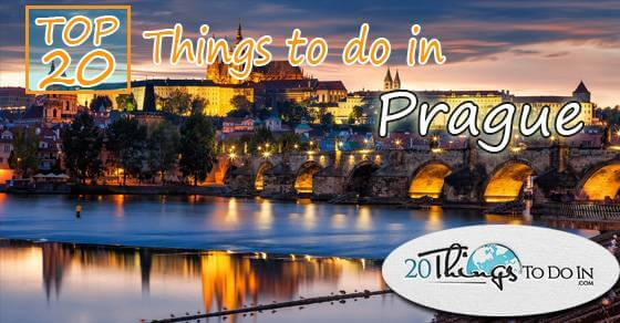 Top 20 things to do in Prague