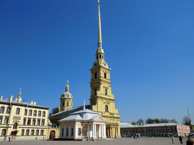 Top 20 things to do in Saint Petersburg: Saints Peter and Paul Cathedral