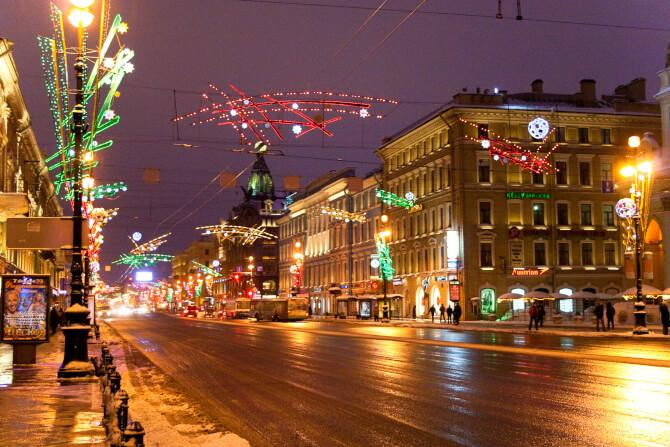 Top 20 things to do in Saint Petersburg: Nevsky Prospect
