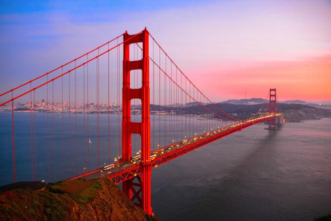 Top 20 things to do in San Francisco: Golden Gate Bridge