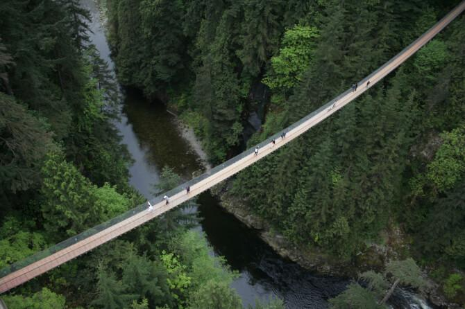 Top 20 things to do in Vancouver: Capilano Suspension Bridge