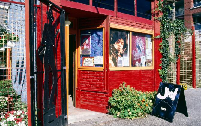 Top 20 things to do in Vancouver: Jimi Hendrix Shrine