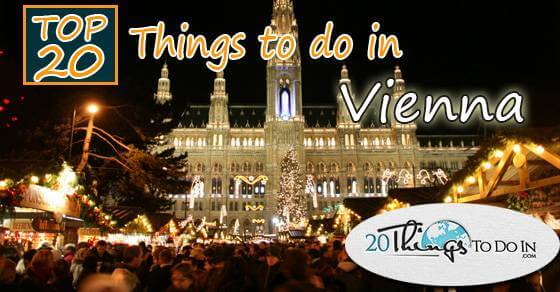Top 20 things to do in Vienna