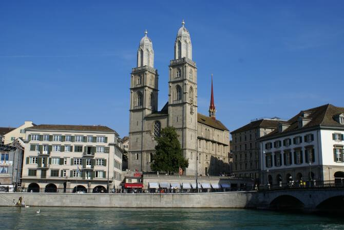 Top 20 things to do in Zürich: Grossmünster