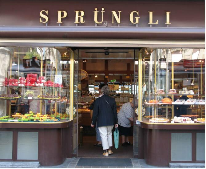 Top 20 things to do in Zürich: Confiserie Sprüngli