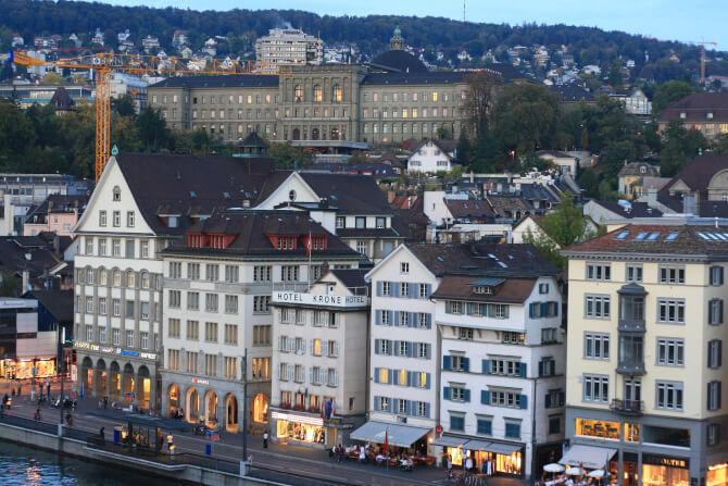 Top 20 things to do in Zürich: Limmatquai