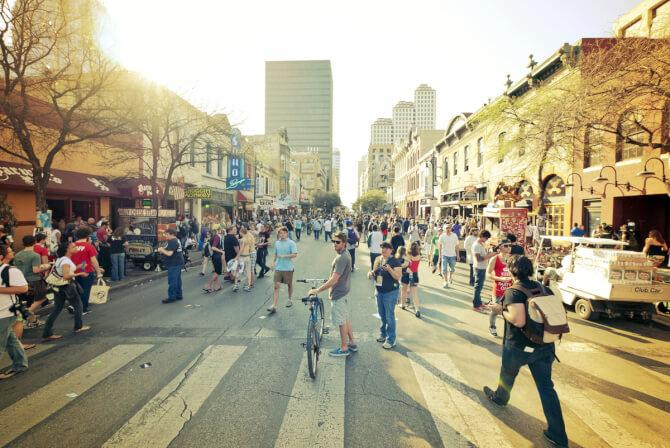 Top 20 things to do in Austin: 6th Street