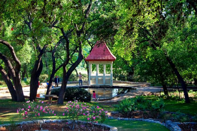 Top 20 things to do in Austin: Zilker Botanical Garden