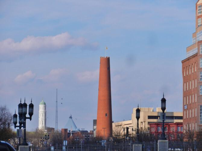 Top 20 things to do in Baltimore: Phoenix Shot Tower