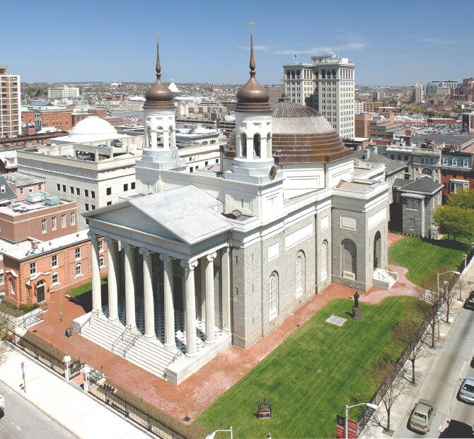 Top 20 things to do in Baltimore: Baltimore Basilica