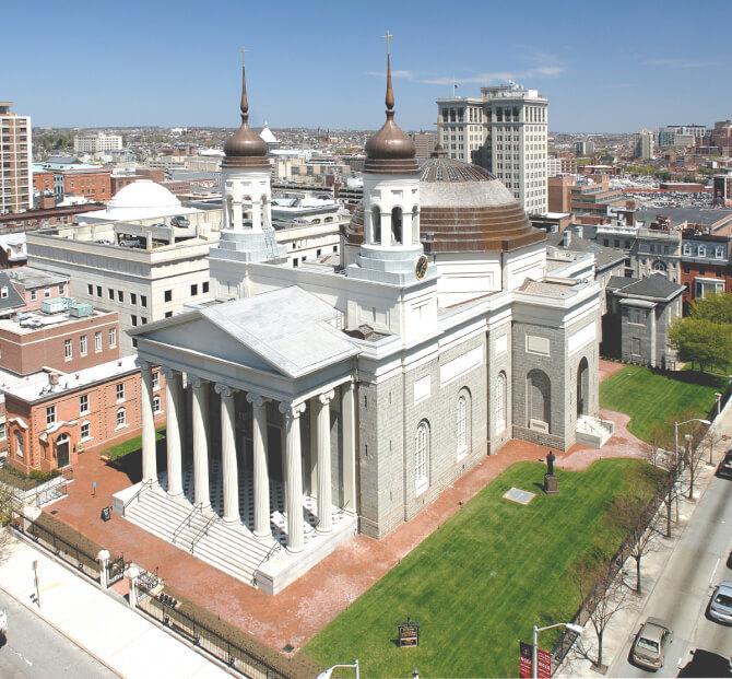 Top 20 things to do in Baltimore: Baltimore Basilica