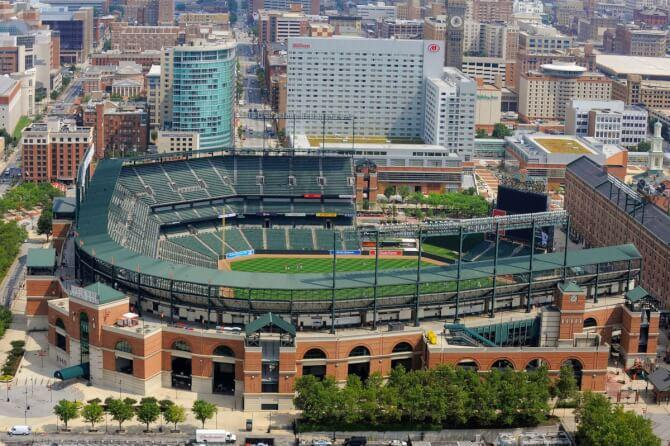 Top 20 things to do in Baltimore: Oriole Park at Camden Yards