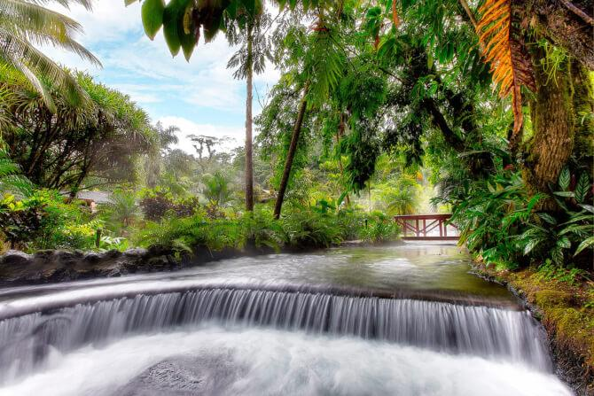 Top 20 things to do in Costa Rica: Tabacón Hot Springs