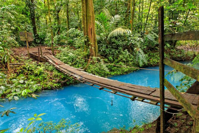 Top 20 things to do in Costa Rica: Río Celeste