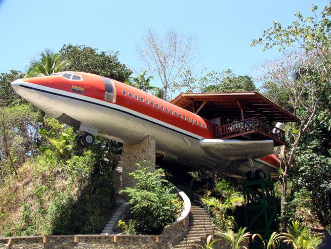 Top 20 things to do in Costa Rica: 727 Fuselage Home