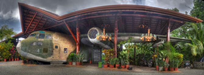 Top 20 things to do in Costa Rica: El Avion Restaurant and Bar