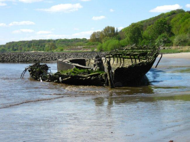 Top 20 things to do in Hamburg: Blankenese Shipwrecks
