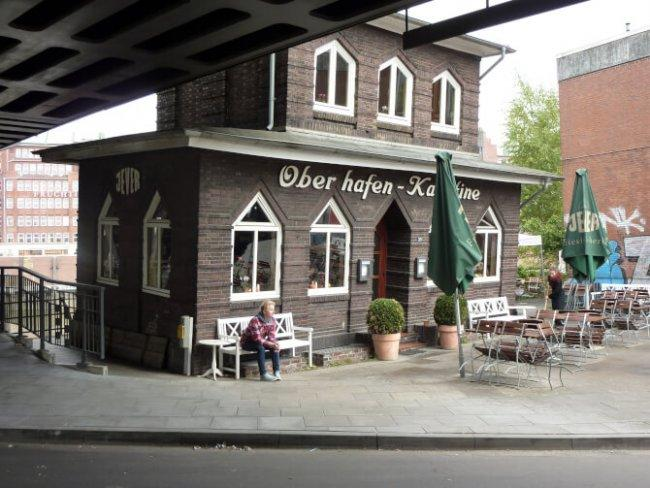 Top 20 things to do in Hamburg: Oberhafenkantine