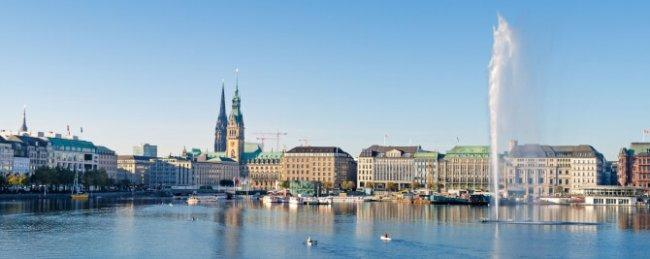 Top 20 things to do in Hamburg: Binnenalster