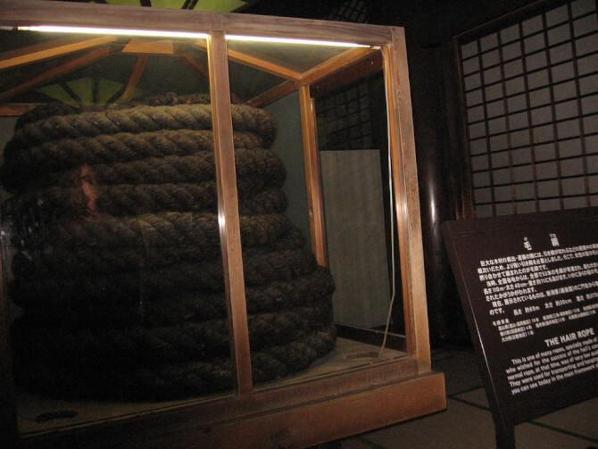 Top 20 things to do in Kyoto: Hair Rope of Higashi Hongan-ji Temple