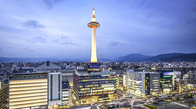 Top 20 things to do in Kyoto: Kyoto Tower