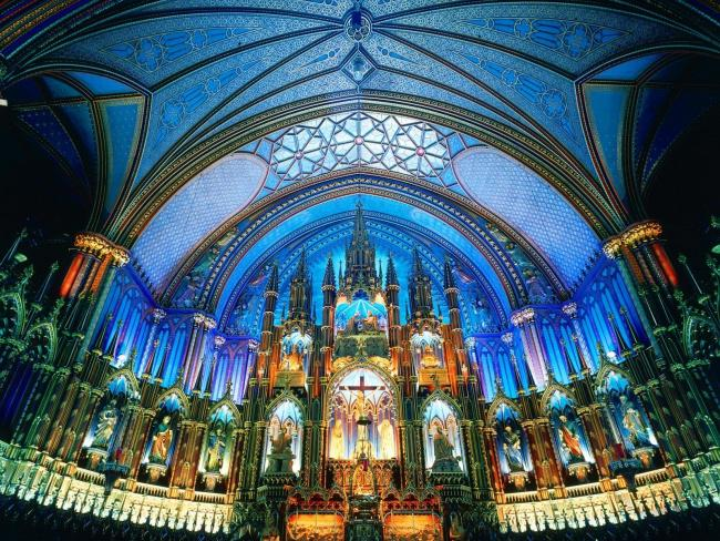 Top 20 things to do in Montreal: Notre-Dame Basilica