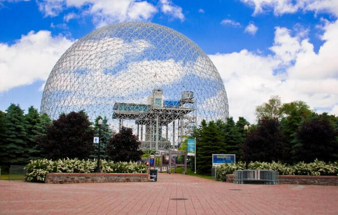 Top 20 things to do in Montreal: Montreal Biosphère