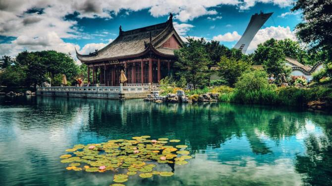 Top 20 things to do in Montreal: Japanese Zen Garden in the Montreal Botanical Gardens