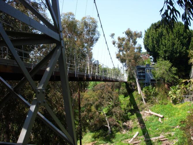 Top 20 things to do in San Diego: Spruce Street Suspension Bridge