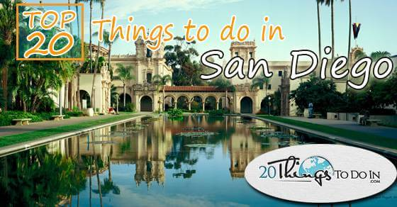 Top 20 things to do in San Diego