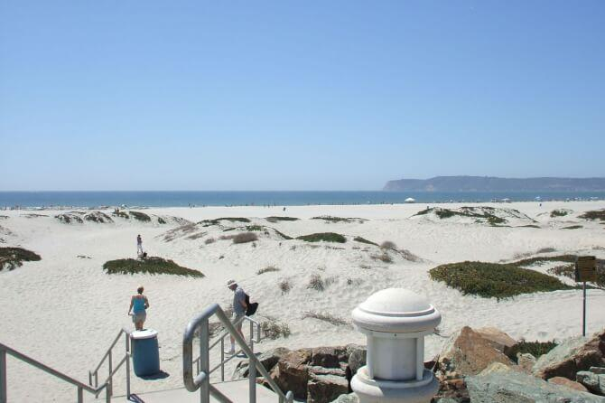 Top 20 things to do in San Diego: Coronado Beach