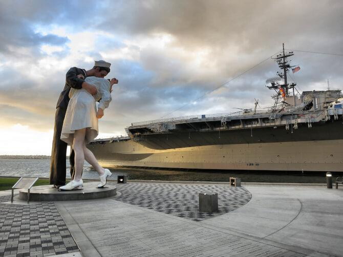Top 20 things to do in San Diego: Unconditional Surrender