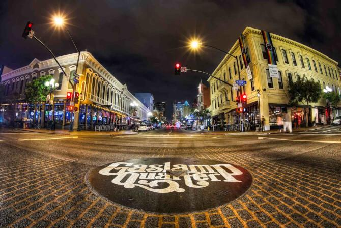Top 20 things to do in San Diego: Gaslamp Quarter
