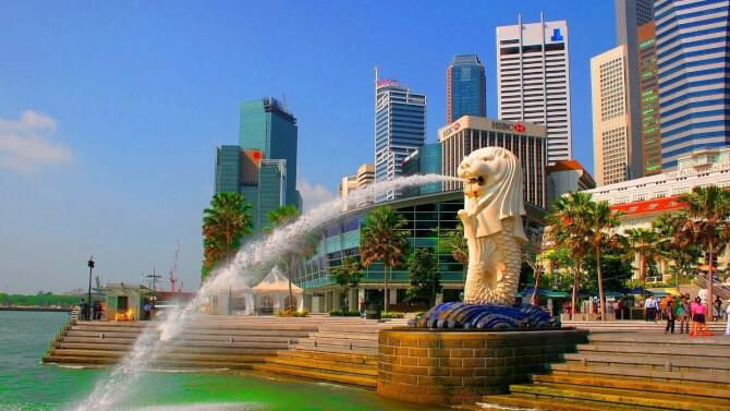 Top 20 things to do in Singapore: Merlion Park