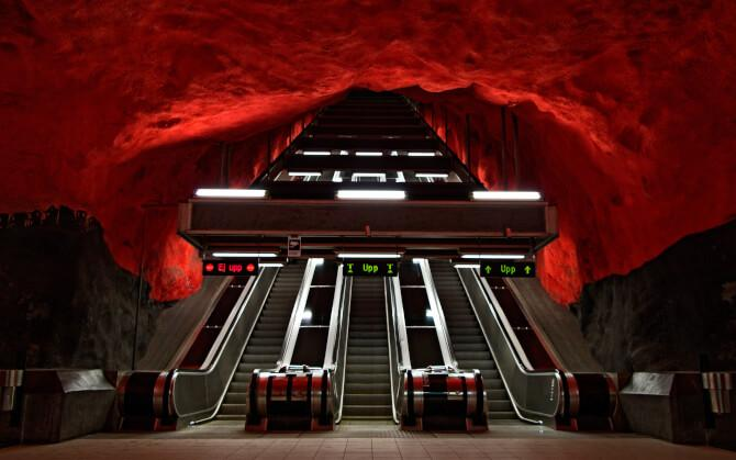 Top 20 things to do in Stockholm: Stockholm Metro