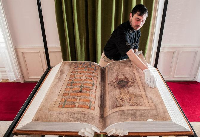 Top 20 things to do in Stockholm: Codex Gigas