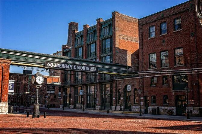 Top 20 things to do in Toronto: Distillery District