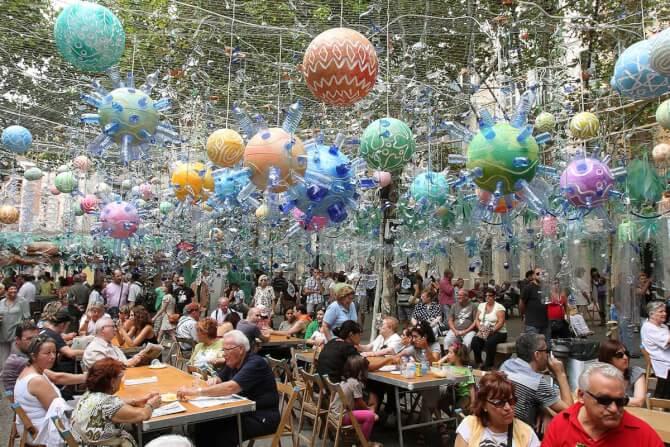 Top 20 things to do in Barcelona: Festa Major de Gràcia