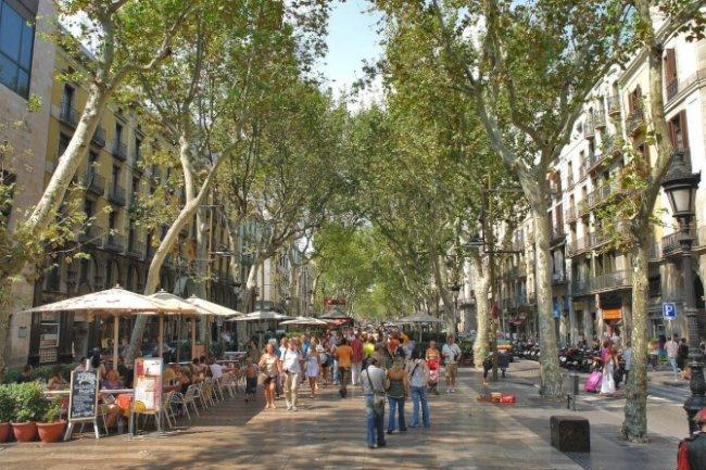 Top 20 things to do in Barcelona: La Rambla