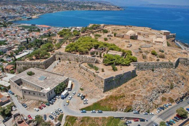 Top 20 things to do in Crete: Fortezza of Rethymno