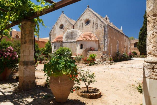 Top 20 things to do in Crete: Arkadi Monastery