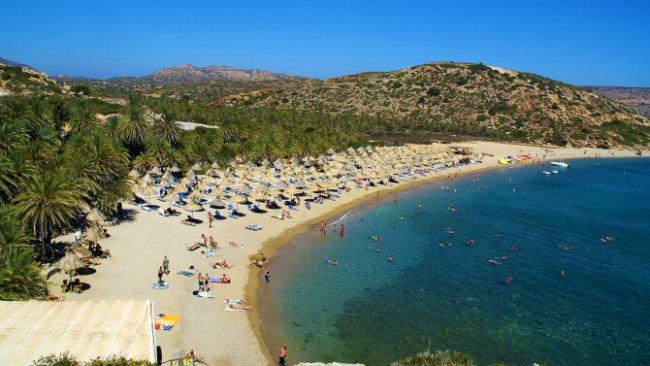 Top 20 things to do in Crete: Vai Beach