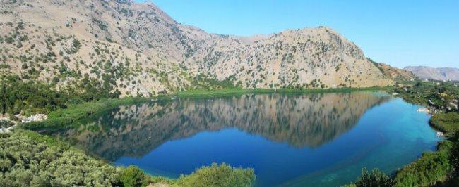Top 20 things to do in Crete: Lake Kournas