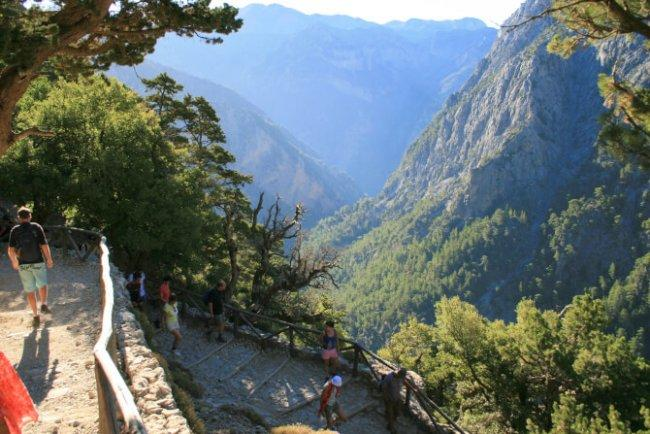 Top 20 things to do in Crete: Samaria Gorge National Park