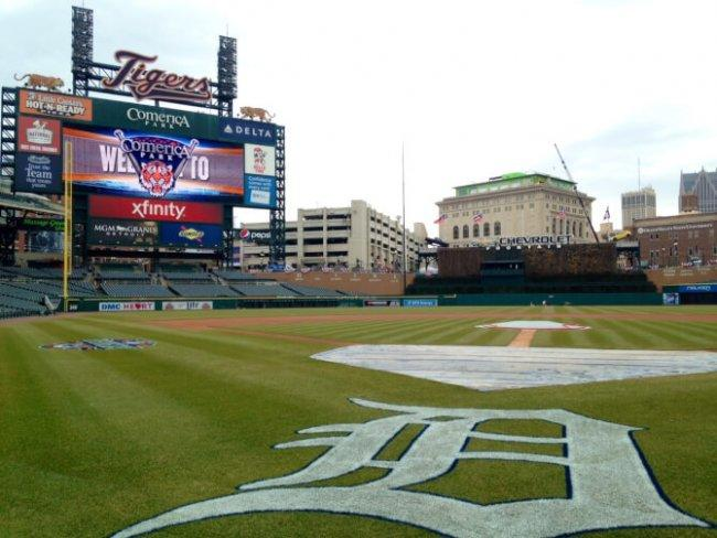 Top 20 things to do in Detroit: Comerica Park