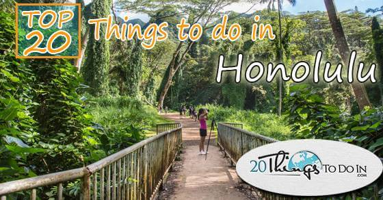 Top 20 things to do in Honolulu